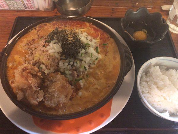 「スタミナ野郎 満トロ(油そば)」@キッチン男の晩ごはん 三鷹の写真
