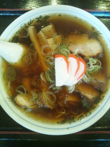 「チャーシュー麺」@大石家 伊那店の写真