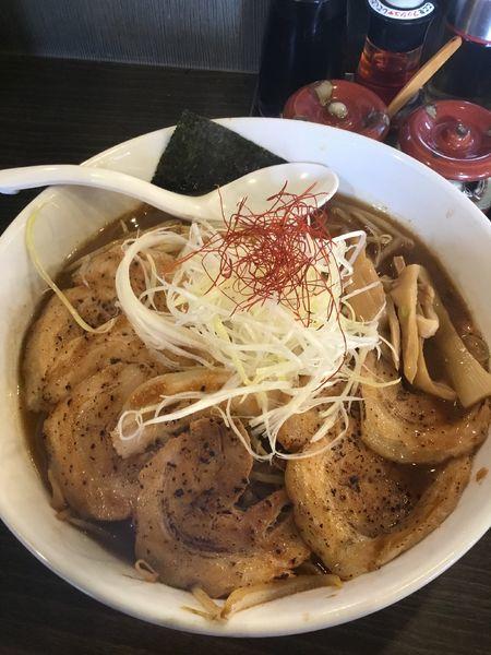 「北海道炙り味噌らーめん 炙りチャーシュー 1100円」@らーめん 福たけの写真