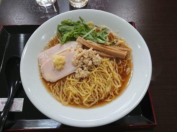 「中華そば 大盛 700円」@中華そば&親子丼 けのひの写真