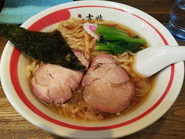 「中華そば」@青竹平打ち中華そば 麺壱吉兆の写真