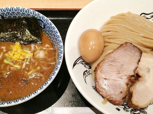 「濃厚味玉つけ麺(大)」@松戸富田麺業の写真