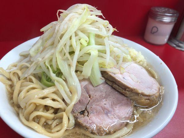 「小ラーメン 麺少なめ 700円」@ラーメン二郎 神田神保町店の写真