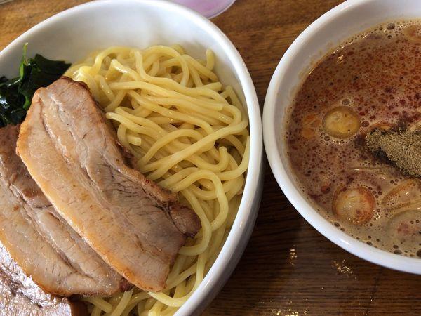「麻辣チャーシューつけ麺」@一道麺屋の写真