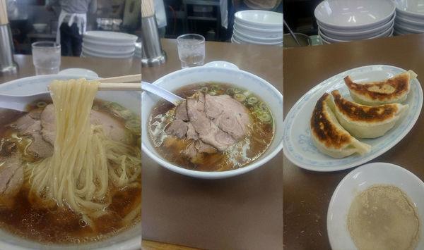 「『ちゃーしゅーめん+餃子3個(¥800+240)』」@大童の写真