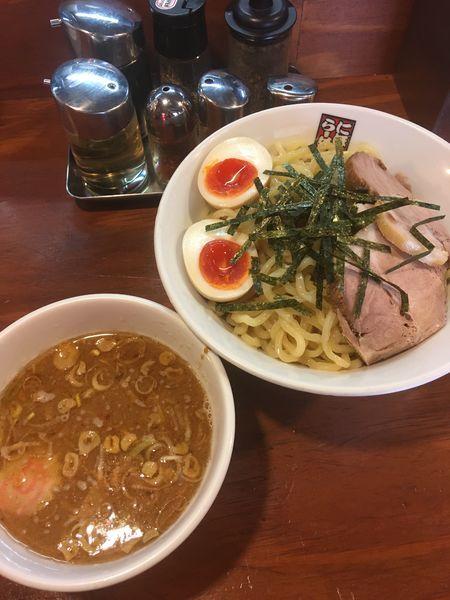 「特製つけ麺」@煮干しらーめん 四代目 玉五郎 鶴橋店の写真