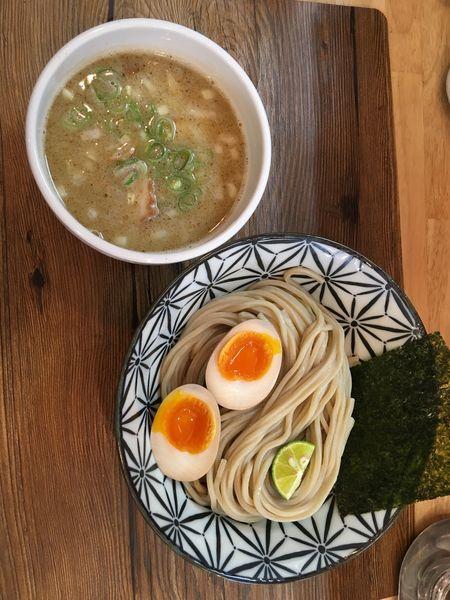 「鶏白湯煮干つけ麺+とろーり味玉」@Ramen611の写真