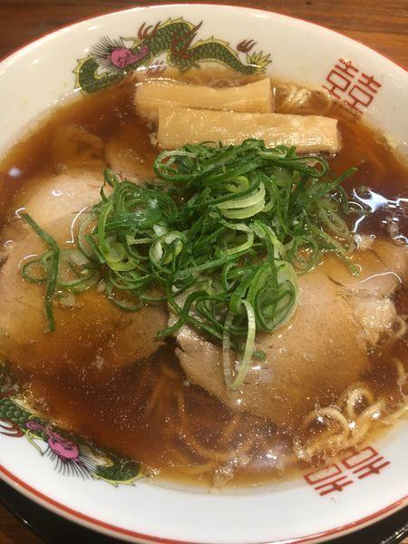 「中華そば¥680」@味噌麺処 マメビシオの写真