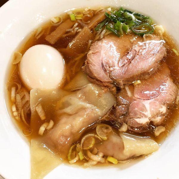 「チャーシューワンタンメン味玉入り」@麺匠 きくちの写真