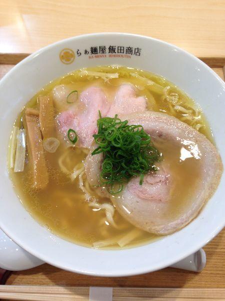 「にぼしらぁ麺 900円」@らぁ麺 飯田商店の写真