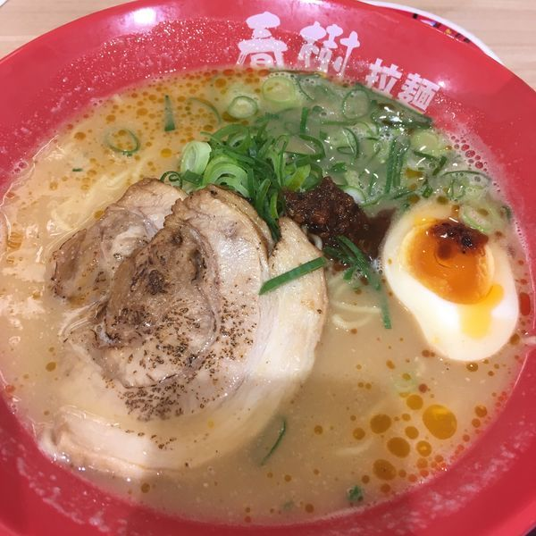 「えび豚骨味噌ラーメン」@えび豚骨拉麺 春樹 南砂町スナモ店の写真