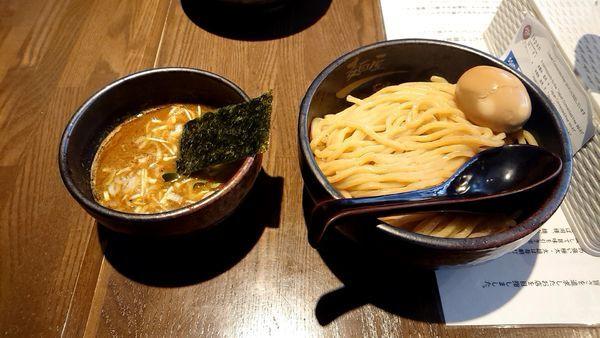 「味玉濃厚つけ麺」@麺屋 一路の写真
