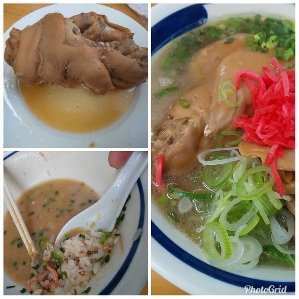「PIG's FOOT 足二本」@MENYA 食い味の道有楽の写真