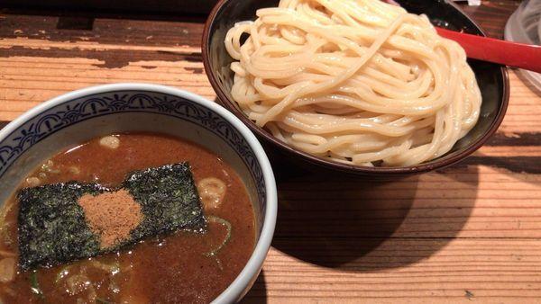 「つけ麺」@つけ麺専門店 三田製麺所 恵比寿南店の写真
