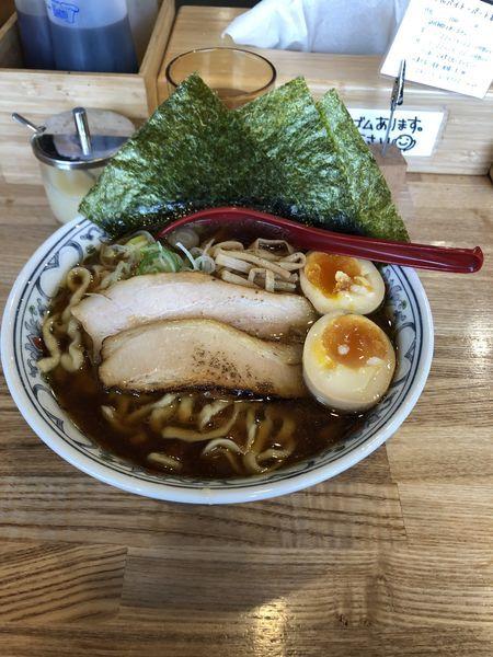 「特製醤油」@くじら食堂 nonowa東小金井店の写真