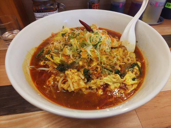 「野菜マーラー麺、野菜増し」@ラーメン餃子 なか屋の写真