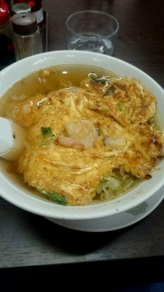 「天津麺(800円)」@上海料理 弘華飯店の写真