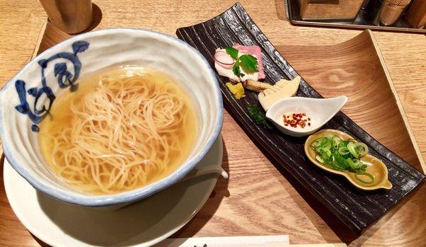「osaka だしSOBA」@銀座 篝 ルクア大阪店の写真