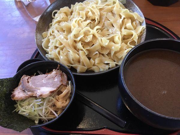 「つけ麺大盛」@くりの木 加須店の写真