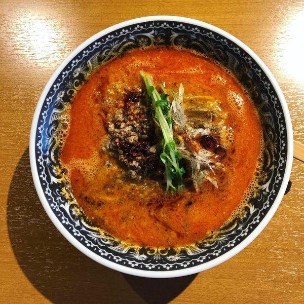 「担々麺(3辛)」@麺肴 ひづきの写真