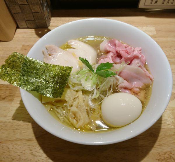 「特製鶏そば 塩」@麺屋 れんしんの写真