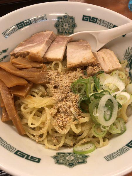 「汁なし麺」@来来軒 浦和西口店の写真