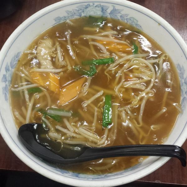 「もやしそば700円」@ガットコ食堂 大の写真
