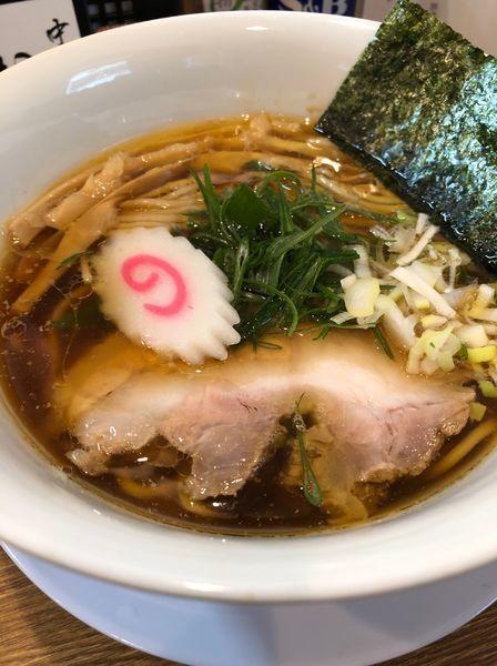「醤油そば」@中華そば 桐麺の写真