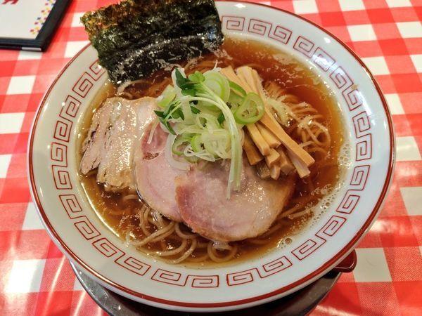 「あっさりらぁ麺(醤油)」@ぬーじボンボン ニュータイプの写真