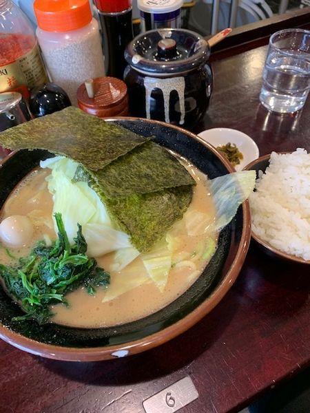 「醤油(並) 650円 キャベツ80円」@大黒家の写真