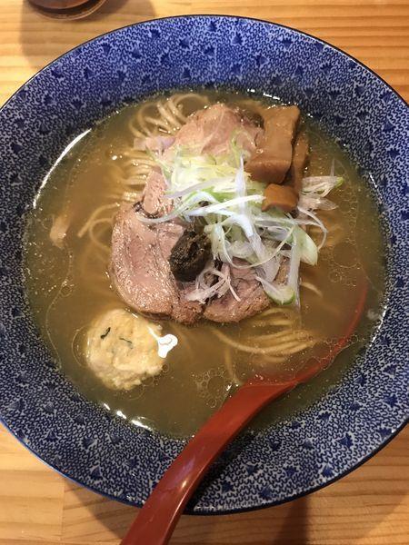「鶏塩そば(¥750)」@中華蕎麦 つけ麺 五味五香の写真