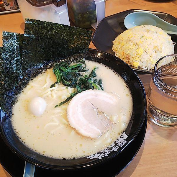 「チャーハンセット(醤油・味薄め・脂少なめ)」@町田商店 東村山店の写真