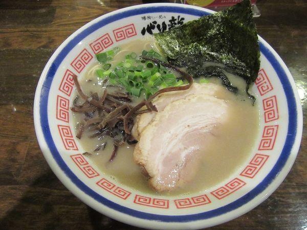 「チャーシューめん(830円)+替え玉2玉」@活龍 期間限定麺処 みつきの写真