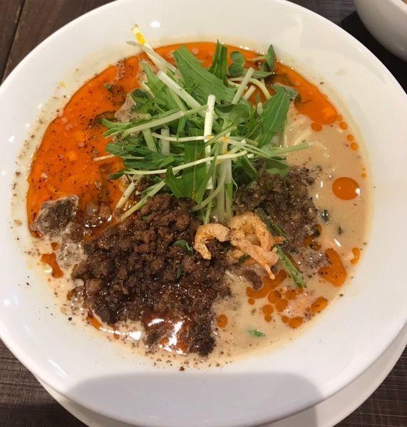 「担担麺 レベル3」@四川担担麺 阿吽 北浦和店の写真