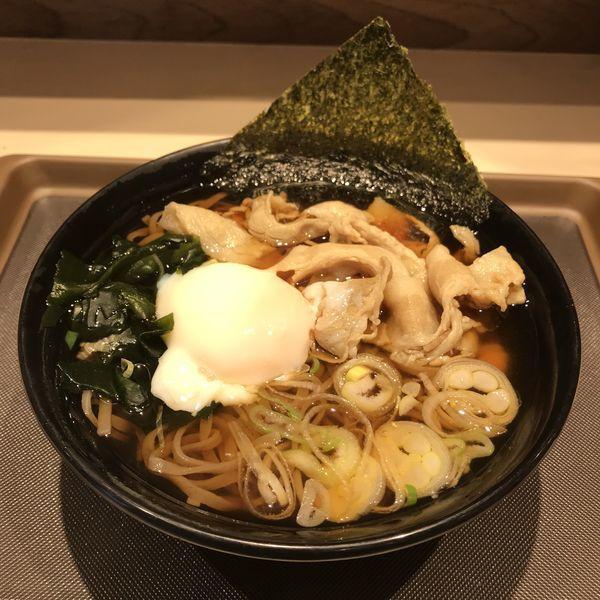 「肉富士(¥500)」@名代 富士そば 学芸大学駅前店の写真