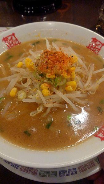 「味噌ラーメン」@おおぎやラーメン 深谷店の写真