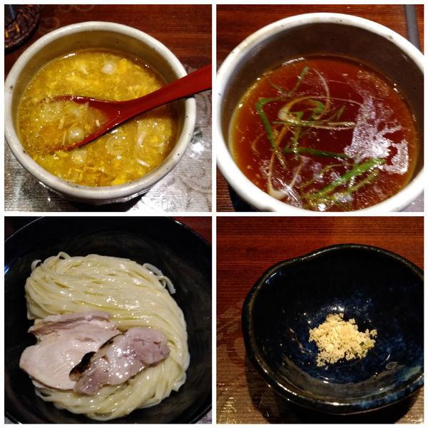 「【限定】香鶏-koukei-(鶏油香る清湯つけ麺)」@つけ麺 繁田の写真