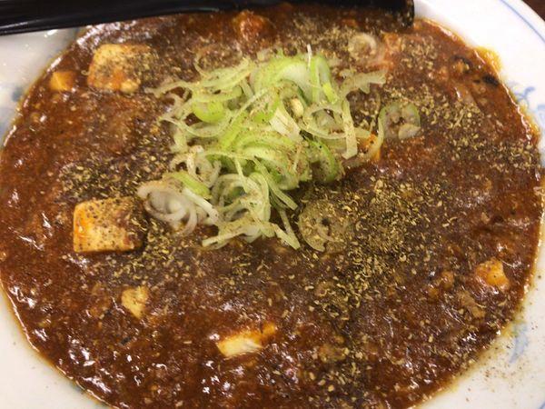 「麻婆つけ麺」@ガットコ食堂 大の写真