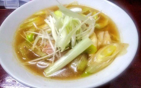 「鴨南ばんラーメン」@九州大分ラーメン 麺恋亭 中華街店の写真