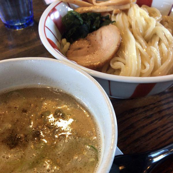 「つけ麺 750円(うどん麺)」@ラーメン厨房 ぽれぽれの写真