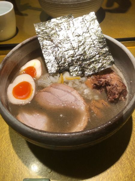 「特製煮干しそば塩」@麺屋 音の写真
