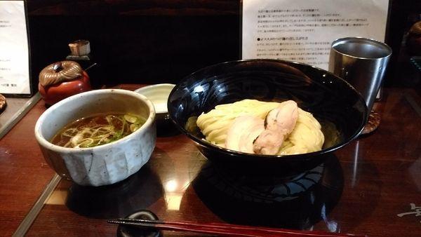 「限定 香鶏」@つけ麺 繁田の写真