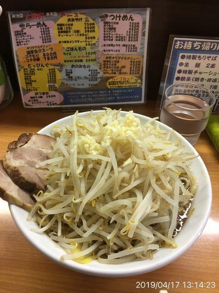 「弁天麺」@東池袋大勝軒 弁天店の写真