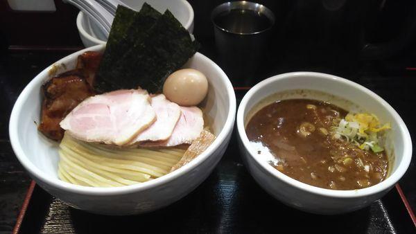 「得製つけ麺大盛 チャーシュートッピング」@濃厚宗田つけめん 麺屋縁道の写真