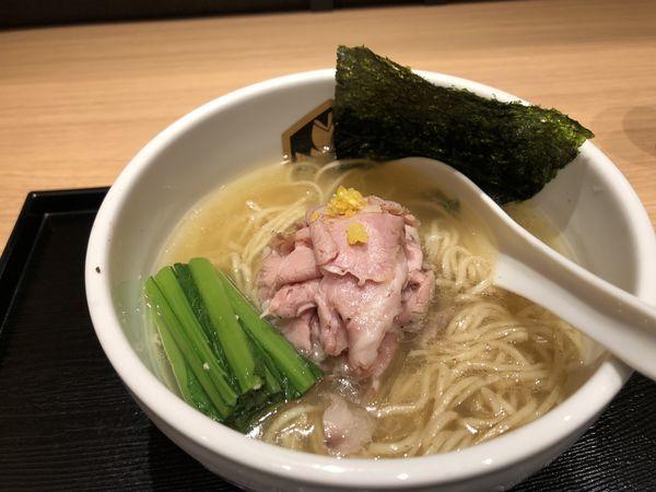 「鰤ラーメン」@真鯛らーめん 麺魚 錦糸町PARCO店の写真