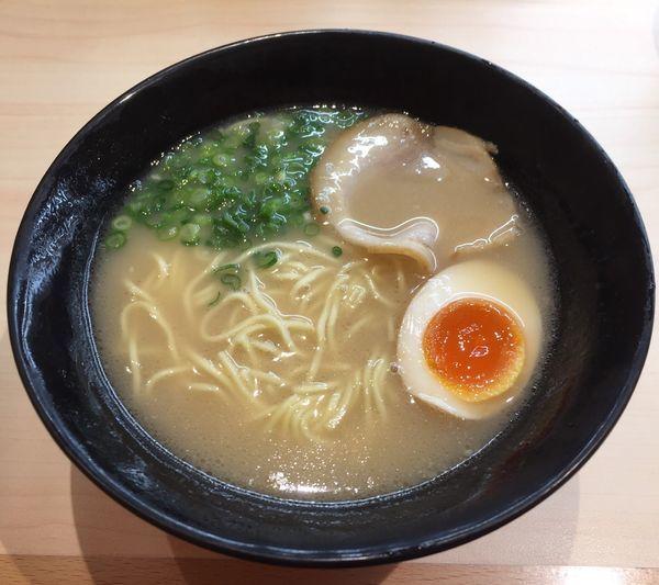 「博多とんこつラーメン」@はま寿司 八千代大和田店の写真