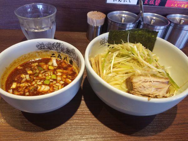 「辛ねぎつけ麺」@二九八家 いわせの写真