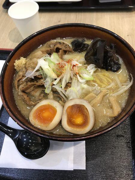 「炙り豚味噌ラーメン」@札幌 みその ラゾーナ川崎店の写真