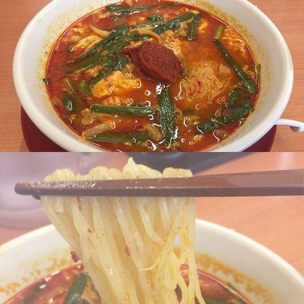 「大宮担々麺」@日高屋 東所沢店の写真