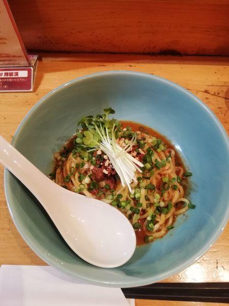 「汁なし担々麺 850円」@担々麺本舗 辣椒漢の写真